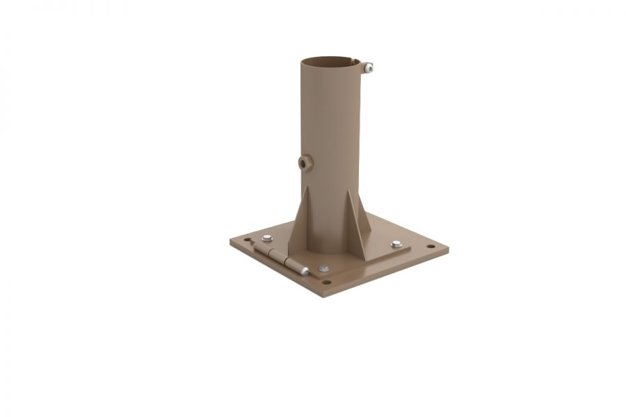25×25 bolt down base
