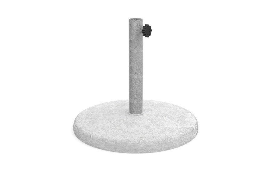 White concrete base 60 cm