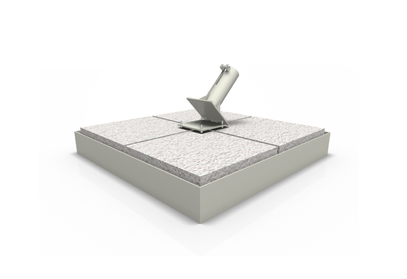 Iron base with pebble tiles Poggesi